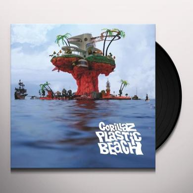 Gorillaz PLASTIC BEACH Vinyl Record