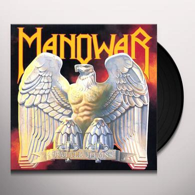 Manowar BATTLE HYMNS Vinyl Record - Limited Edition, 180 Gram Pressing