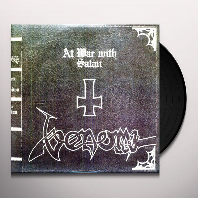 Venom AT WAR WITH SATAN Vinyl Record - Limited Edition, 180 Gram Pressing
