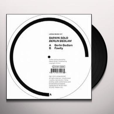 Dapayk Solo BERLIN BEDLAM Vinyl Record