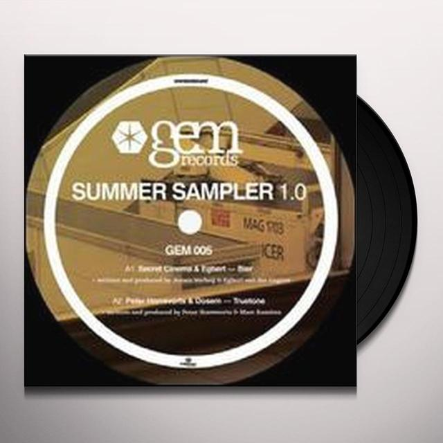 GEM SUMMER SAMPLER 1 / VARIOUS (EP) Vinyl Record