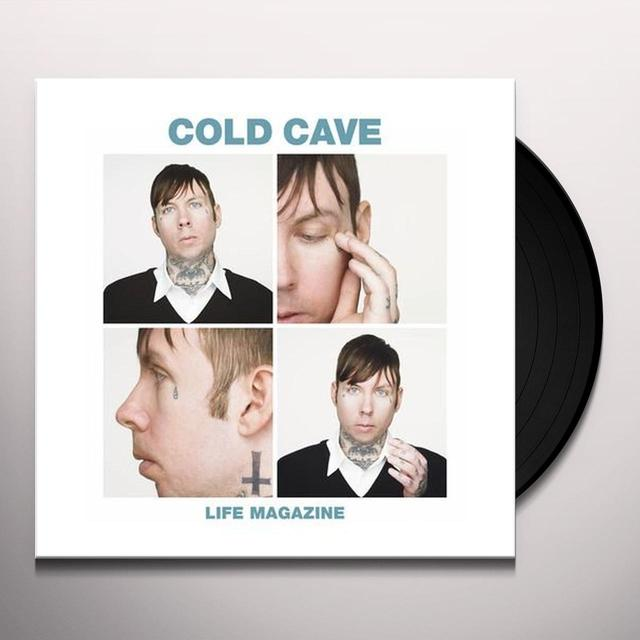 Cold Cave LIFE MAGAZINE REMIXES (EP) Vinyl Record - MP3 Download Included