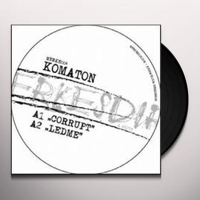 Komaton CORRUPT (EP) Vinyl Record