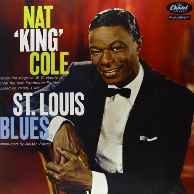Nat King Cole ST LOUIS BLUES Vinyl Record - 180 Gram Pressing
