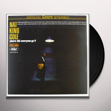 Nat King Cole WHERE DID EVERYONE GO Vinyl Record