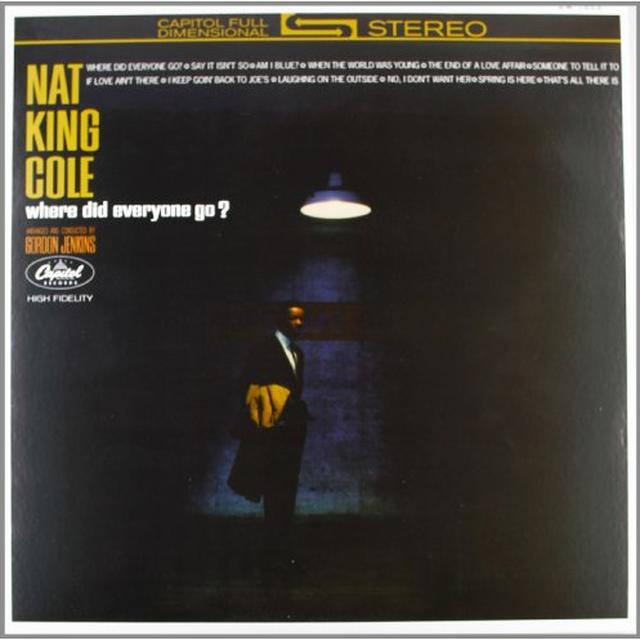 Nat King Cole WHERE DID EVERYONE GO Vinyl Record - 180 Gram Pressing