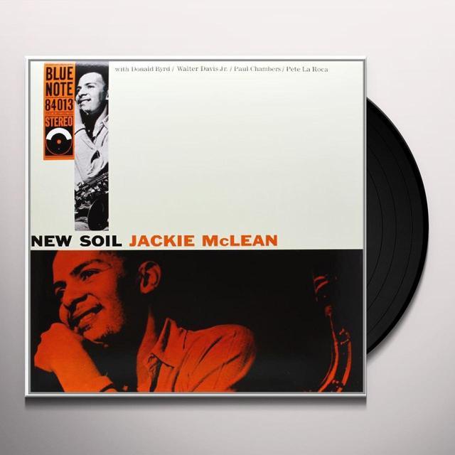 Jackie Mclean NEW SOIL Vinyl Record - 180 Gram Pressing