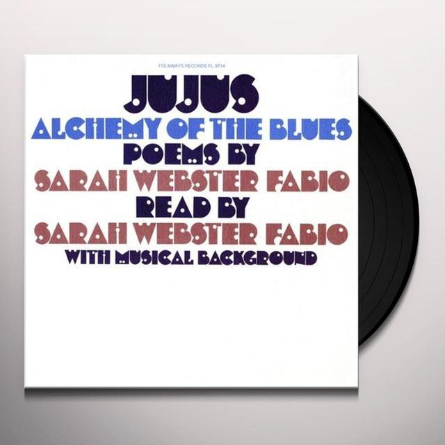 Sarah Webster Fabio JUJUS / ALCHEMY OF THE BLUES Vinyl Record