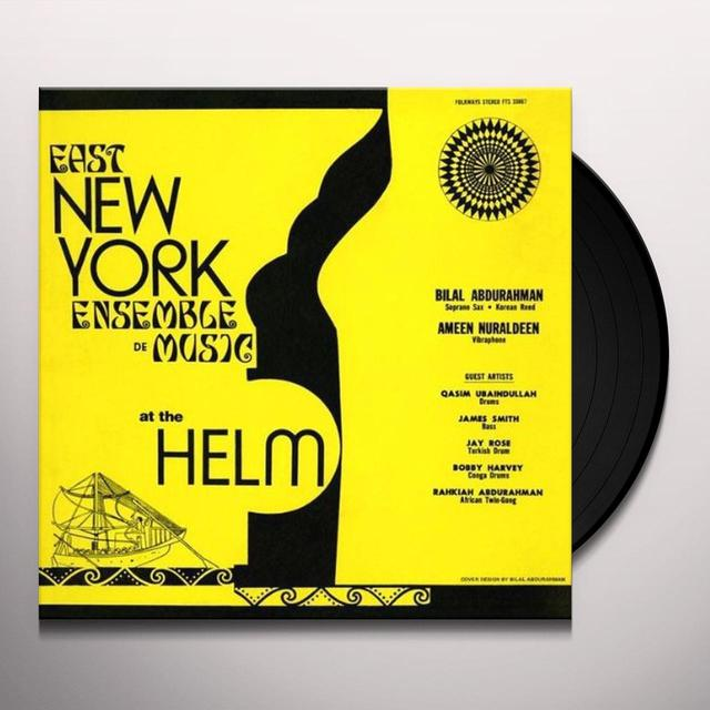 East New York Ensemble De Music AT THE HELM Vinyl Record