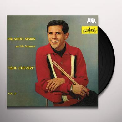 Orlando Marin QUE CHEVERE II Vinyl Record
