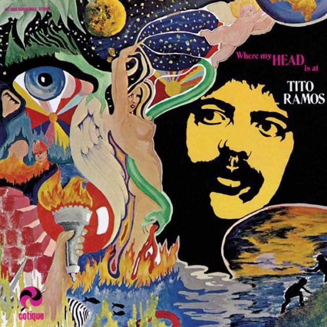 Tito Ramos WHERE MY HEAD IS AT Vinyl Record
