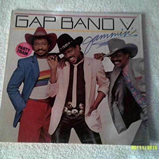 Gap Band V-JAMMIN Vinyl Record