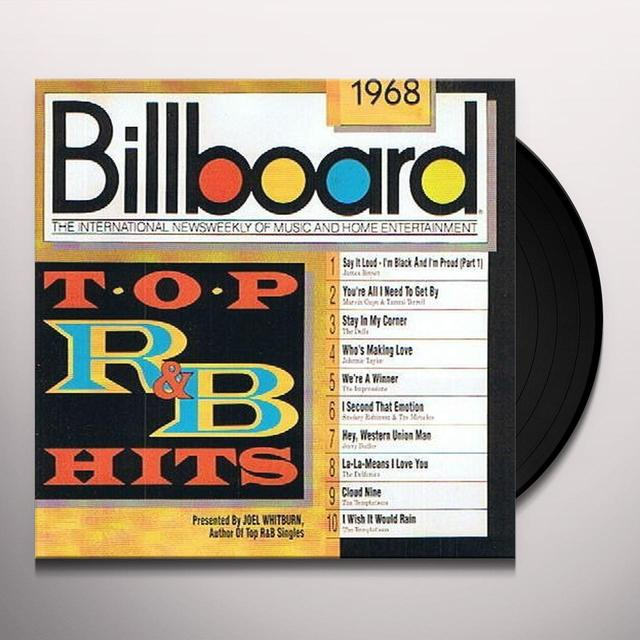 BILLBOARD TOP R&B HITS 1968 / VARIOUS Vinyl Record