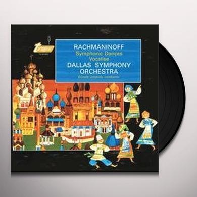 Rachmaninoff / Johanos SYMPHONIC DANCES & VOCALISE Vinyl Record