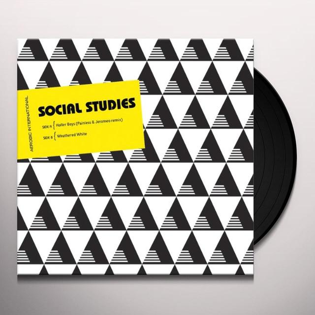 Social Studies HOLLER BOYS REMIX Vinyl Record