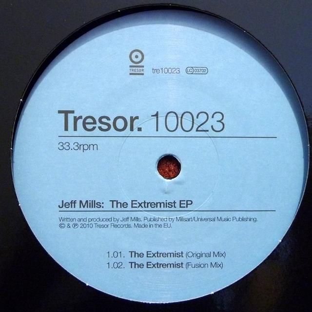 Jeff Mills EXTREMIST EP Vinyl Record