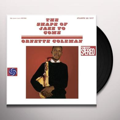 Ornette Colman SHAPE OF JAZZ TO COME Vinyl Record - 180 Gram Pressing