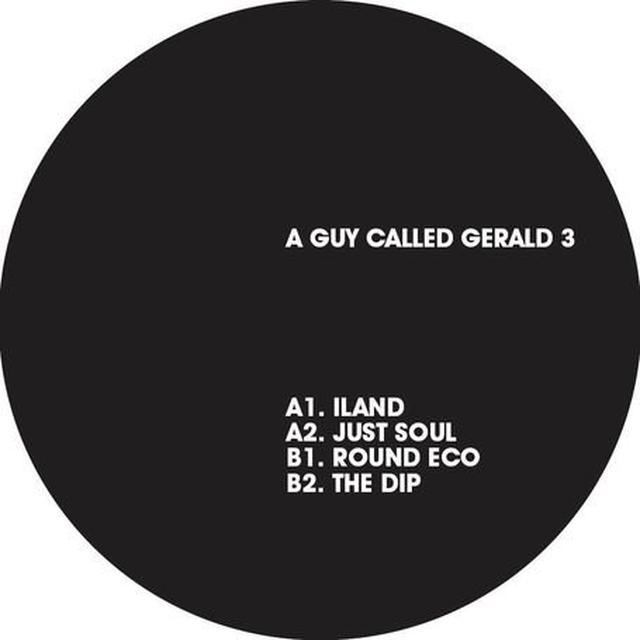 A Guy Called Gerald TRONIC JAZZ: THE BERLIN SESSIONS 3 Vinyl Record