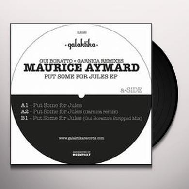 Maurice Aymard PUT SOME FOR JULES (EP) Vinyl Record
