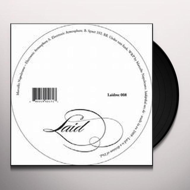 Marcello Napoletano ELECTRONIC ATMOSPHERE Vinyl Record