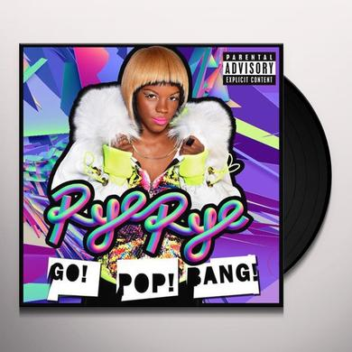 Rye Rye GO POP BANG Vinyl Record