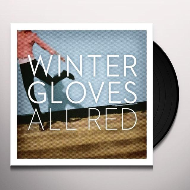 Winter Gloves ALL RED Vinyl Record