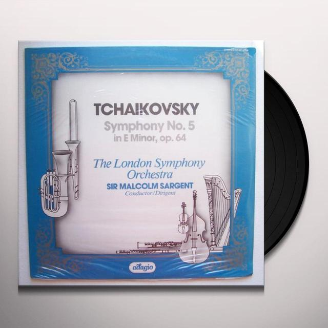 Tchaikovsky / Sargent SYMPHONY 5 Vinyl Record