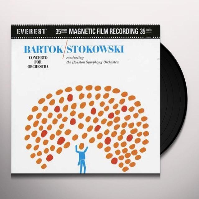 Bartok / Stokowski CONCERTO FOR ORCHESTRA Vinyl Record - 200 Gram Edition