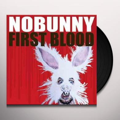 Nobunny FIRST BLOOD Vinyl Record