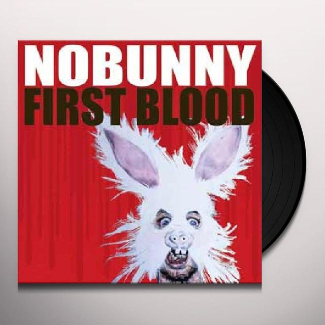 Nobunny FIRST BLOOD Vinyl Record