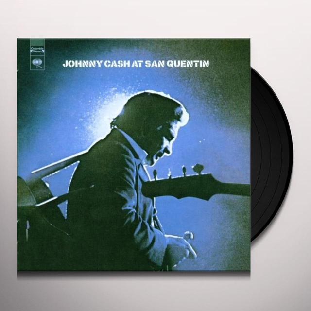 Johnny Cash AT SAN QUENTIN Vinyl Record - 180 Gram Pressing, Remastered