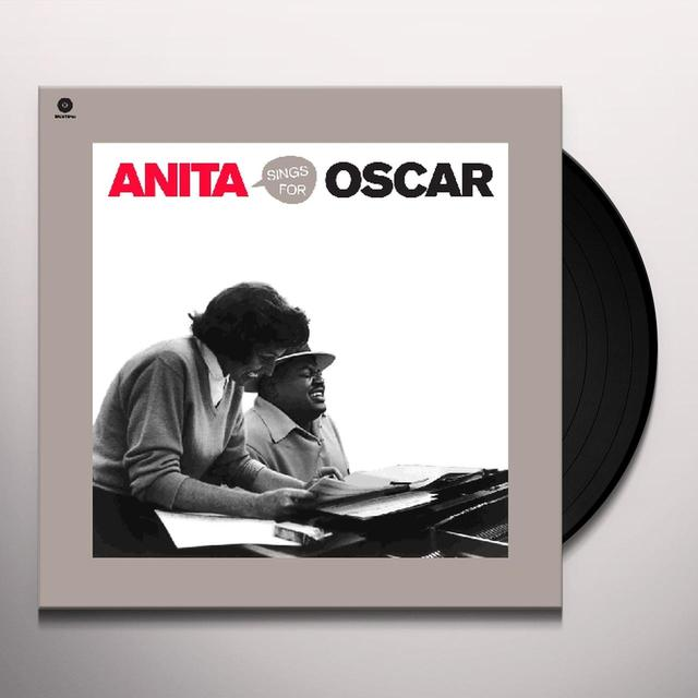 Anita O'Day SINGS FOR OSCAR (BONUS TRACKS) Vinyl Record - 180 Gram Pressing