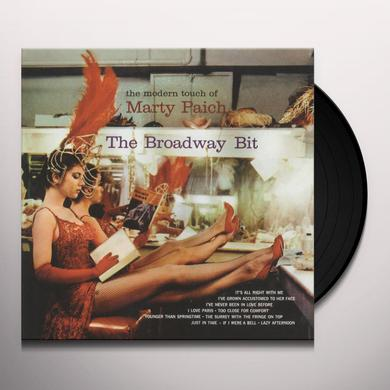 Marty Paich BROADWAY BIT (BONUS TRACKS) Vinyl Record - 180 Gram Pressing