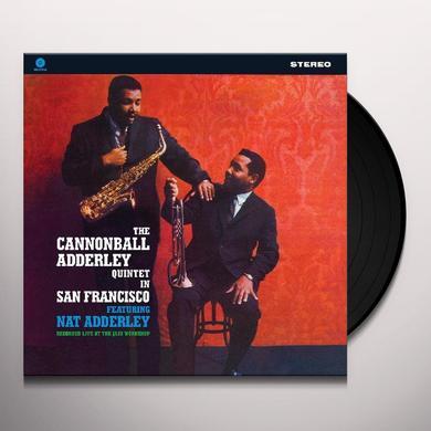 Cannonball Adderley IN SAN FRANCISCO Vinyl Record - 180 Gram Pressing