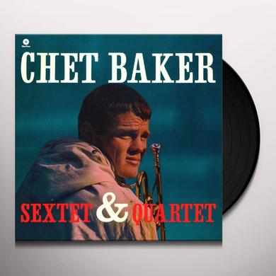CHET BAKER SEXTET & QUARTET (BONUS TRACK) Vinyl Record - 180 Gram Pressing