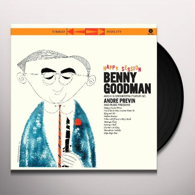 Benny Goodman HAPPY SESSION (BONUS TRACK) Vinyl Record - 180 Gram Pressing