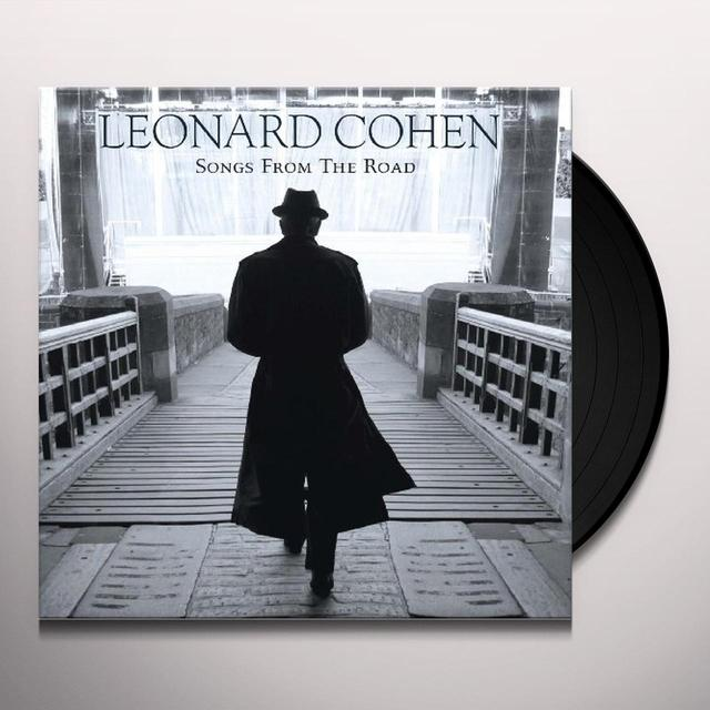 Leonard Cohen SONGS FROM THE ROAD Vinyl Record - 180 Gram Pressing