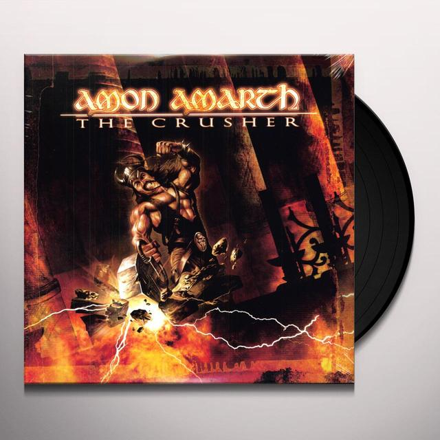 Amon Amarth CRUSHER Vinyl Record - Limited Edition, 180 Gram Pressing