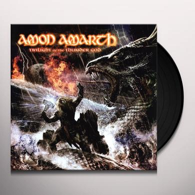 Amon Amarth TWILIGHT OF THE THUNDERGOD Vinyl Record