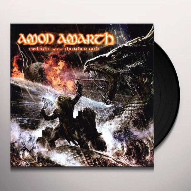 Amon Amarth TWILIGHT OF THE THUNDERGOD Vinyl Record - Limited Edition, 180 Gram Pressing