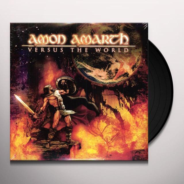 Amon Amarth VERSUS THE WORLD Vinyl Record - Limited Edition, 180 Gram Pressing