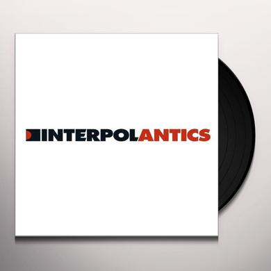 Interpol ANTICS Vinyl Record - MP3 Download Included