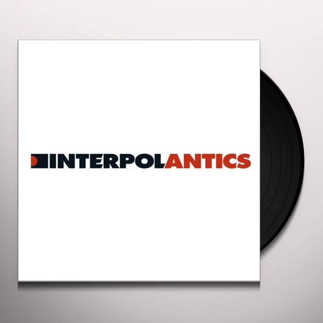 Interpol ANTICS Vinyl Record - MP3 Download Included