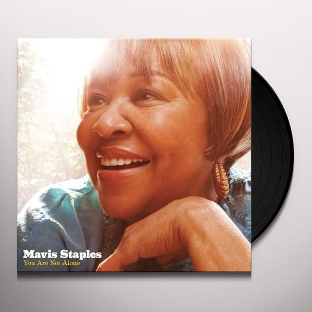 Mavis Staples YOU ARE NOT ALONE Vinyl Record