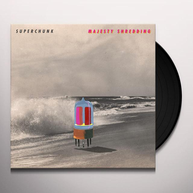 Superchunk MAJESTIC SHREDDING Vinyl Record