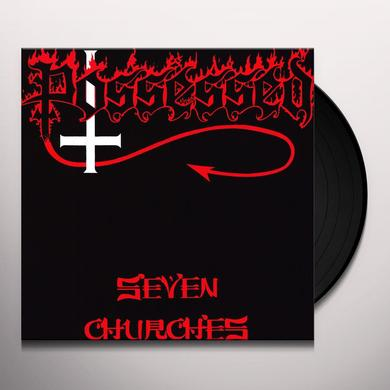 Possessed SEVEN CHURCHES Vinyl Record - Limited Edition, 180 Gram Pressing