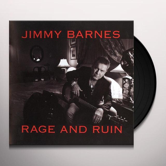 Jimmy Barnes RAGE & RUIN Vinyl Record