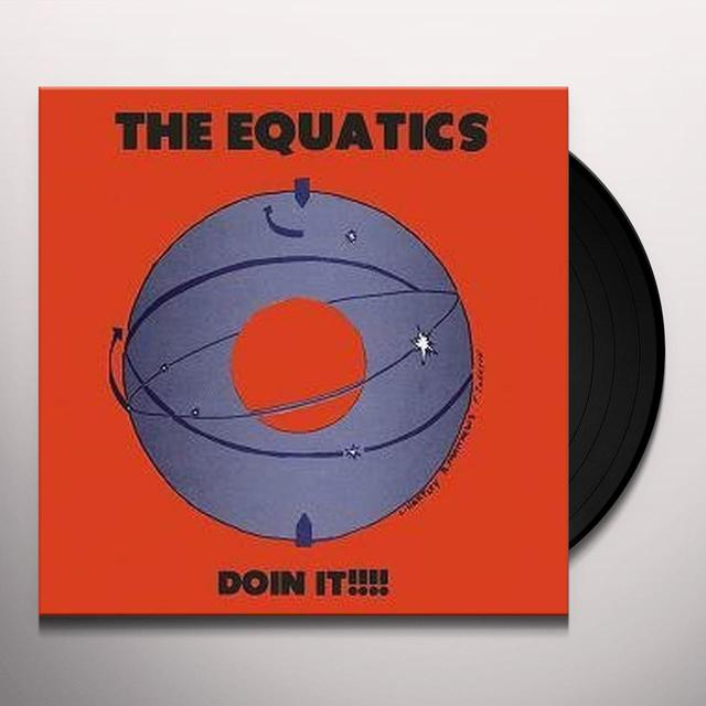 Equatics DOIN IT Vinyl Record