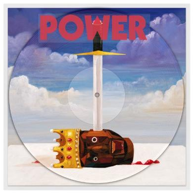 Kanye West POWER (PICTURE DISC) Vinyl Record