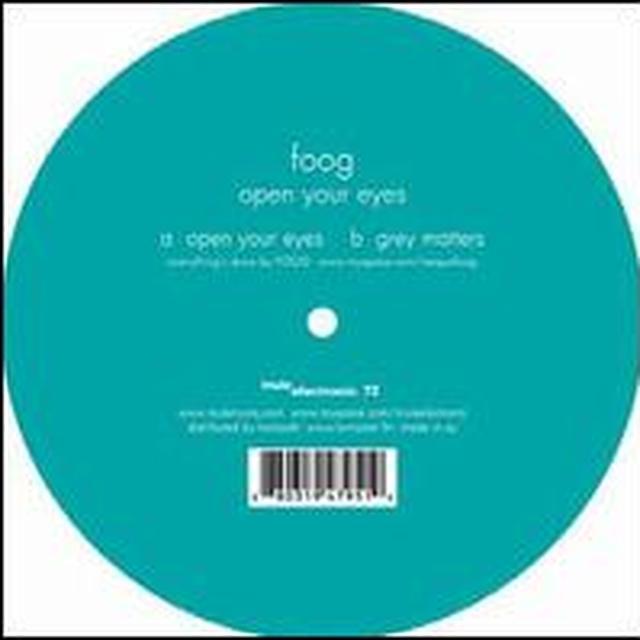 Foog OPEN YOUR EYES Vinyl Record